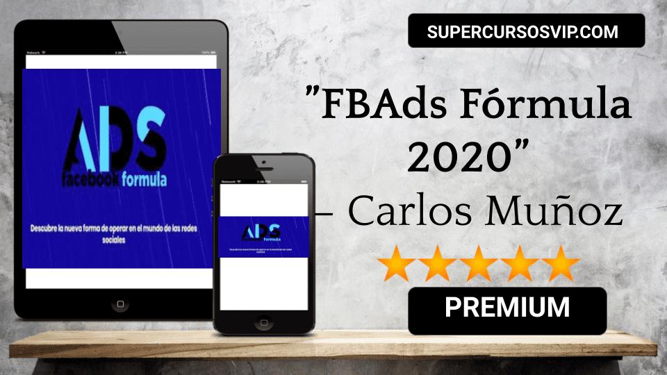 Photo of FBAds Fórmula 2020 – Carlos Muñoz