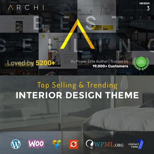 Photo of Archi – Interior Design WordPress Theme