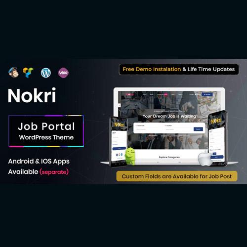 Photo of Nokri – Job Board WordPress Theme